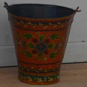kh11-RS-88-indian-furniture-hand-painted-bucket