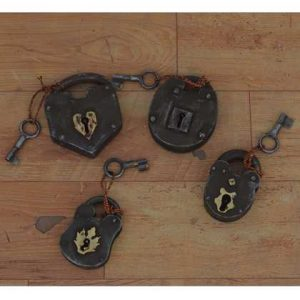 kh11-RS-92 indian furniture vintage metal locks