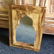 kh14-rs18-071 indian furniture mihrab mirror yellow