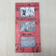 kh2-m_312 accessory photo frame vintage style red