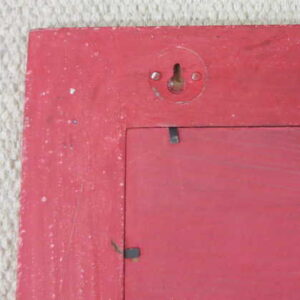kh2-m_312 accessory photo frame vintage style red corner detail