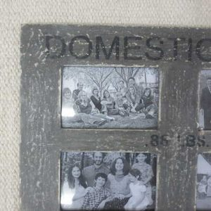 kh2-m_313 accessory photo frame vintage style grey corner detail