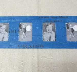 kh2-m_694 accessory photo frame vintage style blue