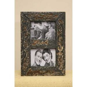 kh5-m2120 indian accessory gifts photo frame 2 photo distressed