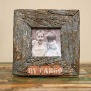 kh5-m2650-indian accessory gift photo frame small 3.5x3.5 rustic