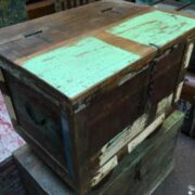 kh7 kr 47 indian furniture storage trunk reclaimed left