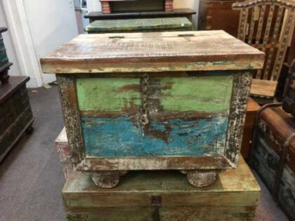 kh7 kr 47 indian furniture storage trunk reclaimed
