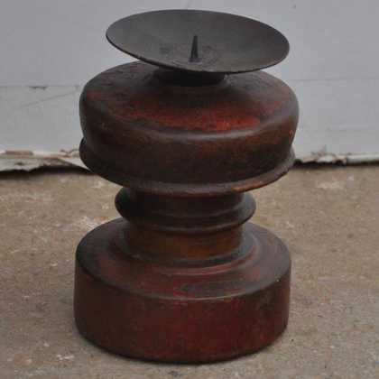 kh7-kr-49 indian gifts candlestand old