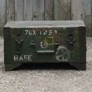 kh7-kr-70a indian furniture box storage military original front detail