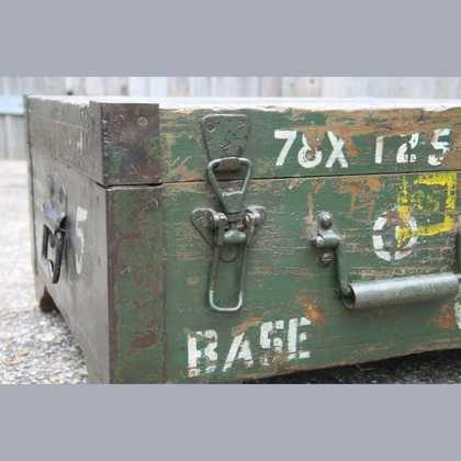 kh7-kr-70a indian furniture box storage military original latch
