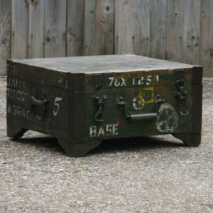 kh7-kr-70a indian furniture box storage military original again