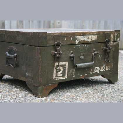 kh7-kr-70b indian furniture box storage military original closed