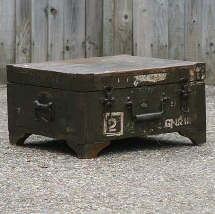 kh7-kr-70b indian furniture box storage military original