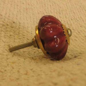 n0249d indian accessory knob unusual ruby side