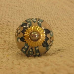 n0249l indian accessory knob unusual front