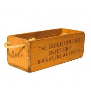 vintage box small sweets brighton box 2112-p