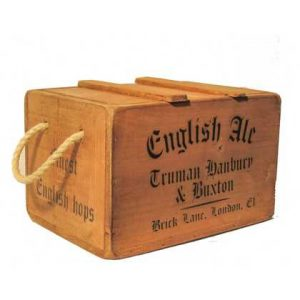 vintage chest english ale hops 2636-p