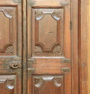 kh11-RS-17 indian furniture vintage window frame b panel doors