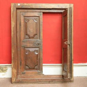 kh11-RS-17 indian furniture vintage window frame b open