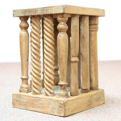 kh11-RS-39-a indian furniture wood stool side table