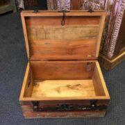 kh8 M 4441 indian furniture trunk storage medium open