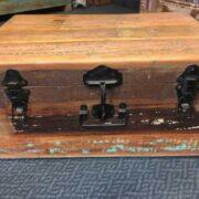 kh8 M 4441 indian furniture trunk storage medium front