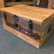 kh8 M 4441 indian furniture trunk storage medium right