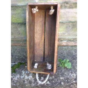 VBS-GG wooden box crate vintage Goldstone Ground Hove single