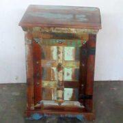 k61-j57-3007 indian furniture bedside rustic charming