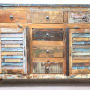 K59-dsc02466 indian furniture sideboard reclaimed shutter 6 drawers eye catching