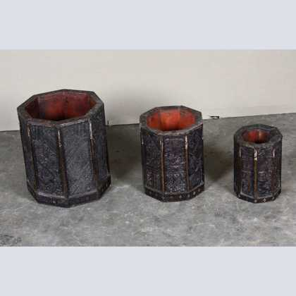 k62-40335 indian planter print block set 2