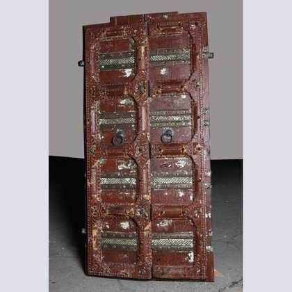k62-40515 indian furniture door vintage full size