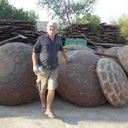 K62-img_8003 indian garden kadai fire pit bowl stand camping bbq original handsome dear uncle russ