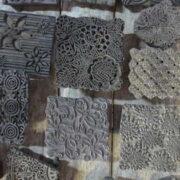 k62-40479 indian print blocks original wooden craft ideas