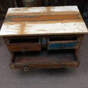 kh14 rs18 049 indian furniture unusual reclaimed console table top