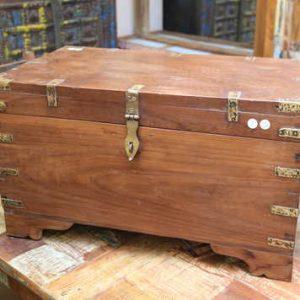 k63-40499-d indian furniture trunk storage teak compartment angle