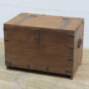 k13-RSO-23 indian furniture trunk storage wooden handles robust
