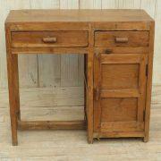 k13-RSO-57 indian furniture desk teak small drawer simple