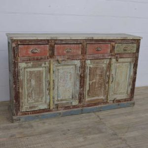 k13-RSO-68 indian furniture sideboard wooden drawers cupboards beach house