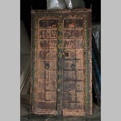 k63-40515 indian furniture door large original b