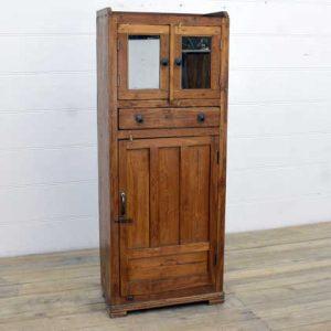 kh14-rs18-034 indian furniture cabinet slim unusual teak