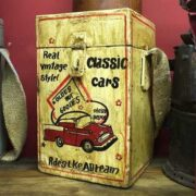 kh14-rs18-072 indian furniture charity collection box classic cars