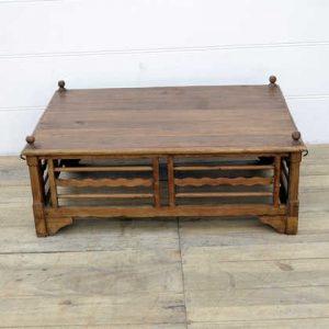 kh14-rs18-100 indian furniture large teak wood coffee table frame