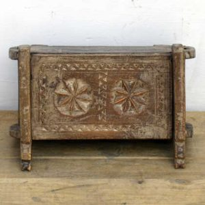 kh14-rs18-106 indian furniture charming hand carved box front