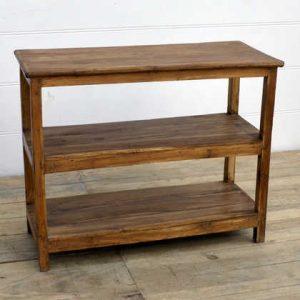 kh14-rs18-111 indian furniture teak wood shelves right