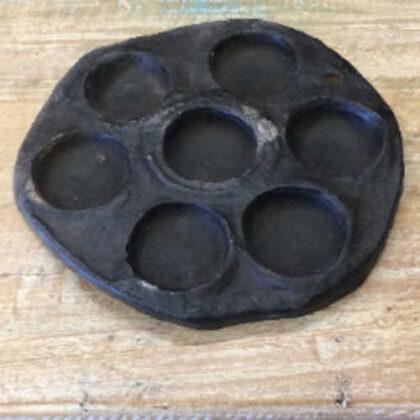 kh18 016 indian furniture idli plate stone 2