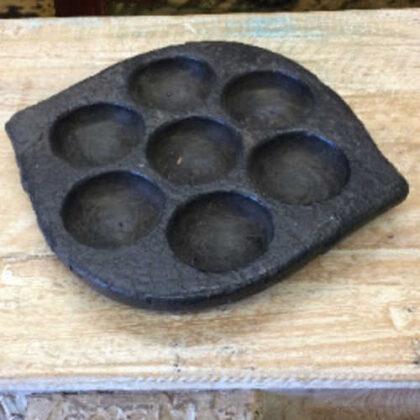kh18 016 indian furniture idli plate stone 1