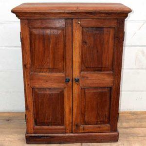 kh15-p1480579 indian furniture rustic sturdy teak farmhouse cabinet natural vintage
