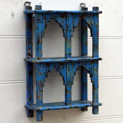 kh15-rs18-087 indian furniture classic jodhpur arched shelving unit unusual quirky