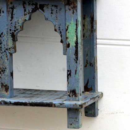 kh15-rs18-087 indian furniture classic jodhpur arched shelving unit detail